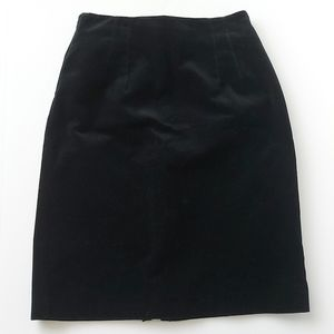 Beechers Brook Vintage 90's velvet pencil skirt